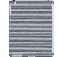 Blue vinyl texture iPad Case/Skin