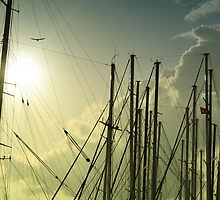 boat masts by gzmguvenc89
