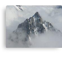 Cloudy Peaks, AK Canvas Print