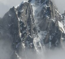 Cloudy Peaks, AK Sticker