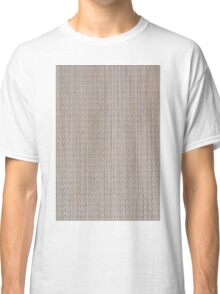 Beige vinyl texture Classic T-Shirt