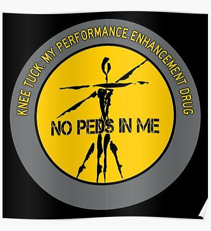 Knee Tuck - My Performance Enhancement Drug Poster