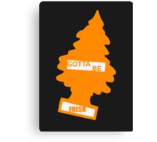 Fresh (Rad Orange) Canvas Print