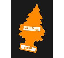 Fresh (Rad Orange) Photographic Print
