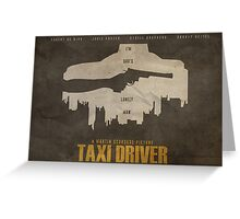 You Talkin' to Me? - Taxi Driver Poster Greeting Card