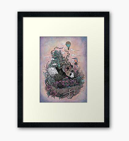 Land of the Sleeping Giant Framed Print
