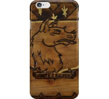 Winter Is Coming- Pyrography Design iPhone Case/Skin