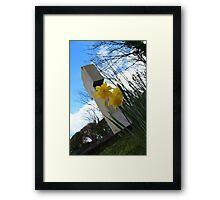 Death and Daffodils Framed Print