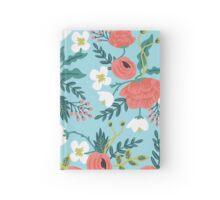 Spring Flower Pattern Hardcover Journal