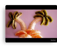 Fruit Beach Canvas Print