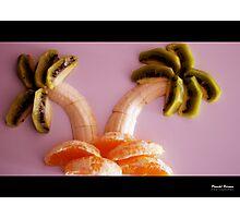 Fruit Beach Photographic Print
