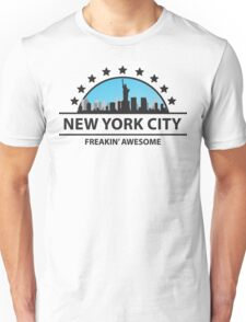 New York City New York Freaking Awesome Unisex T-Shirt