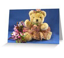 My Teddy Girl Greeting Card