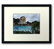 Sandals Beach Resort, Jamaica Framed Print