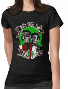 Day of the Del Rio Womens Fitted T-Shirt