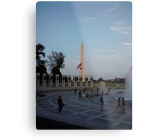 Washington Monument in Washington, DC Metal Print