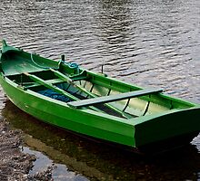 Green Boat by diggle