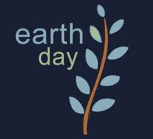 Earth Day With Leaves Kids Clothes