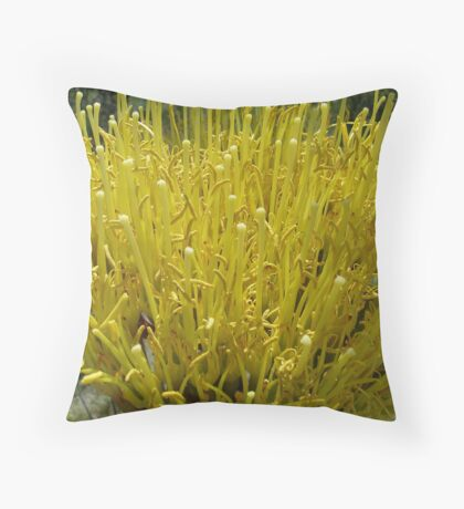 French Fry Flowers Throw Pillow