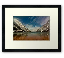 Seton Lake Framed Print