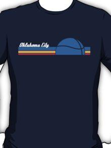 OKC Thunder - Vintage Retro Tee T-Shirt