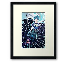 the mermaid witch who fell in love Framed Print