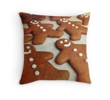 Spicy winter memories Throw Pillow