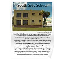 "Fort La Tee Dah ""South Side School"" Poster"
