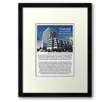 "Fort La Tee Dah ""The Conrad"" Framed Print"