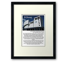 """Fort La Tee Dah """"Used to be the Holiday Inn"""" Framed Print"""