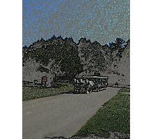 Carraige-Colored Pencil Photographic Print