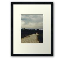Sandy Path Framed Print