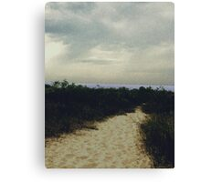 Sandy Path Canvas Print