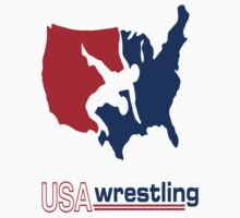 USA Wrestling by Undergroundink