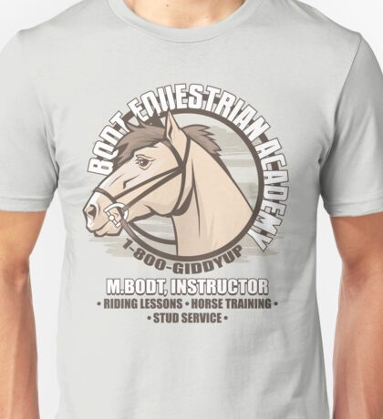 Bodt Equestrian Academy Unisex T-Shirt
