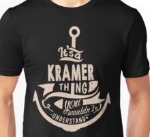 It's a KRAMER shirt Unisex T-Shirt