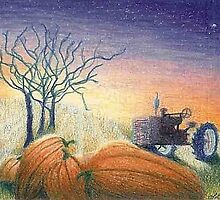 Pumpkin Patch by Lisa Gibson