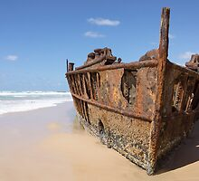 rusting by Anne Scantlebury