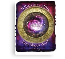 Astrology: Cancer Canvas Print