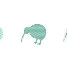 Kiwis by Paula Bielnicka