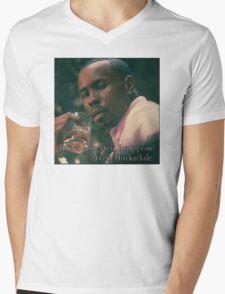 Just a gangster, I suppose Mens V-Neck T-Shirt