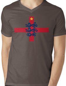 England Mens V-Neck T-Shirt