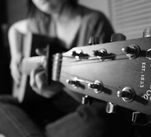 Martin Guitar by Cameron Feuerstein
