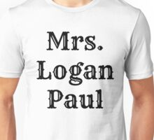 Mrs. Logan Paul Unisex T-Shirt