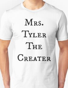 Mrs. TylerTheCreater T-Shirt