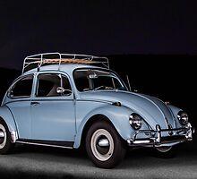 1967 Vintage Volkswagen Bug by Cameron Feuerstein