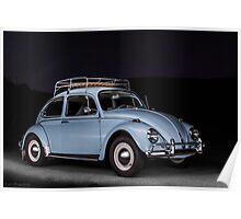 1967 Vintage Volkswagen Bug Poster