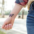 Butterfly Tattoo by Cameron Feuerstein