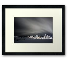 Ghosts of Cypress Mountain Framed Print