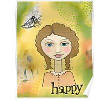 'Happy'  Poster